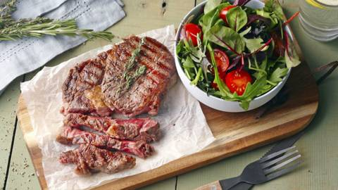Perfect Rib Eye Steaks