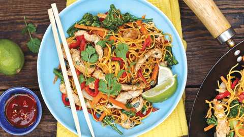Fast and Fabulous Turkey Stir Fry