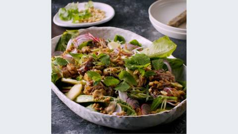 Summer Duck Salad