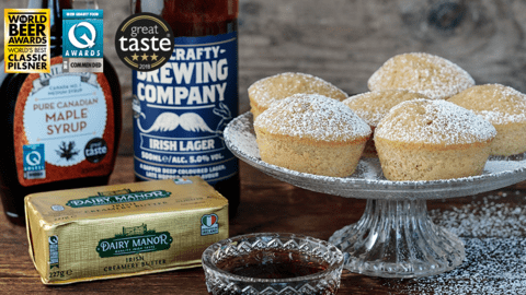 Beer and Cinnamon Muffin - Doughnuts (Baked)