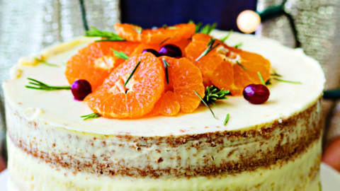 Naked Clementine Cake