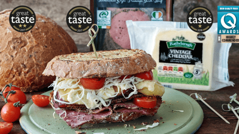 Ultimate Pastrami Sandwich