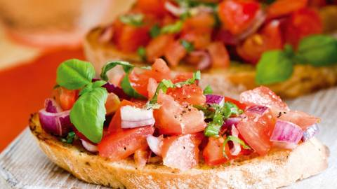 Blissful Bruschetta