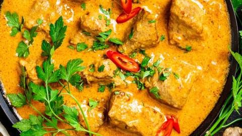 David's Turkey Curry