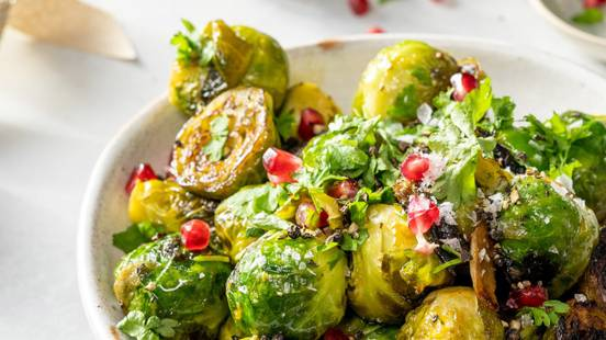 Crispy Honey and Balsamic Sprouts