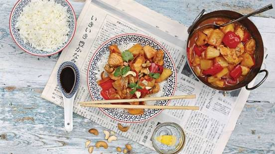 Straightforward Sweet and Sour Chicken