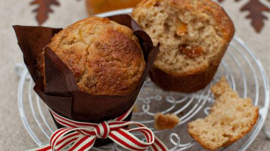 Whiskey Marmalade Muffins