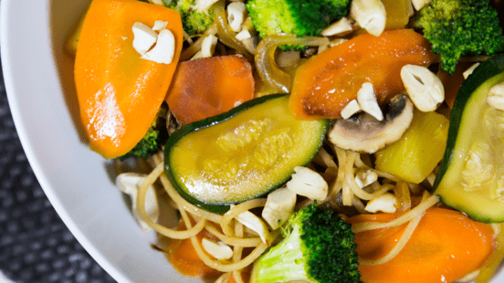 Sweet & Sour Vegetable & Cashew Nut Stir-Fry