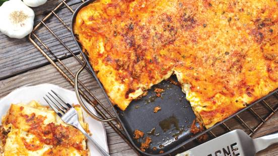 Pork Mince Lasagne