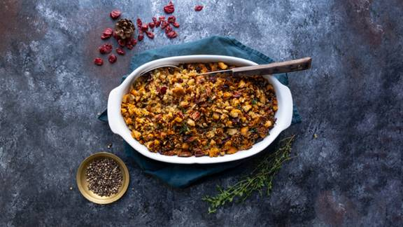 Caramelised Leek, Sage and Pecan Stuffing