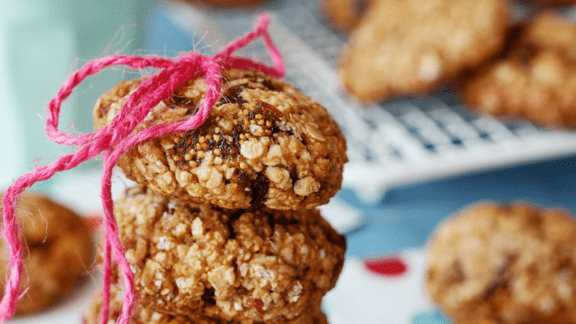 Fiona's Fig & Oatmeal Cookies