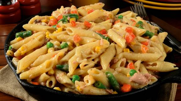 David's Tuna and Sweetcorn Pasta Bake