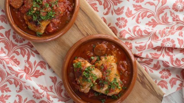 Tomato and Rosemary Roast Chicken