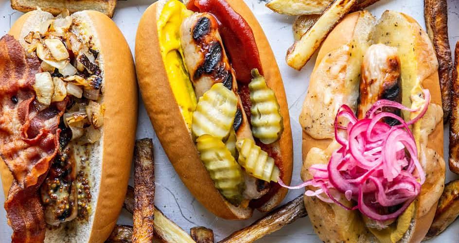 Summer Hot Dog