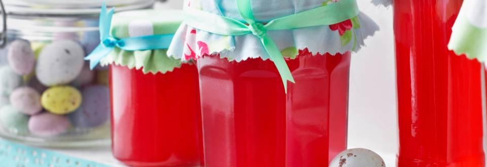 Rhubarb & Raspberry Jelly