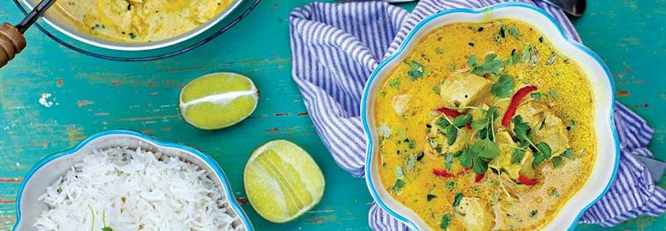 Chicken and Coconut Milk Curry