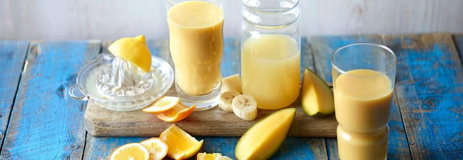 Mango-Banana Orange Smoothie