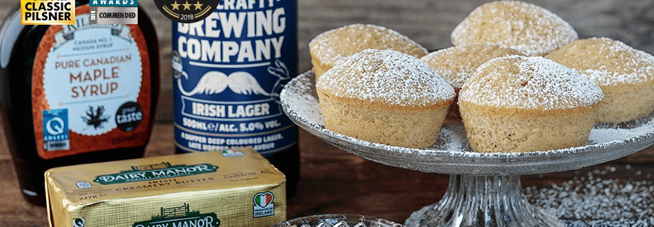 Beer and Cinnamon Muffin