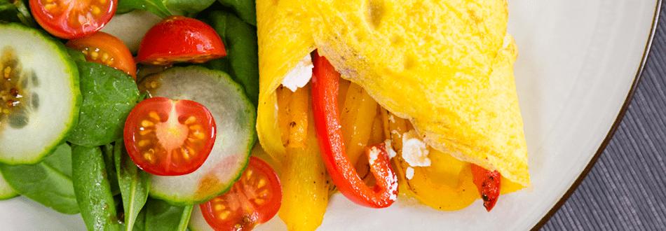 Mediterranean-Omelette