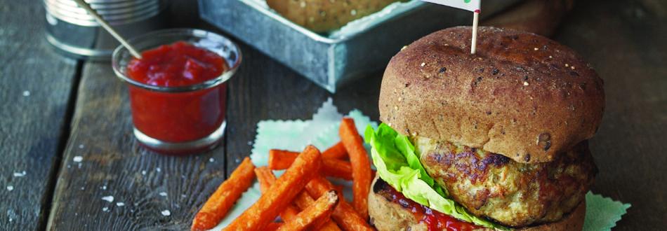 Oven Baked Gluten Free Burgers
