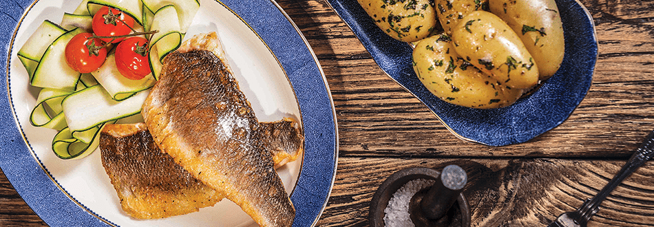Pan Fried Seabass